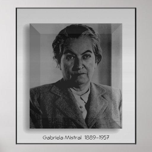 Gabriela Mistral Posters