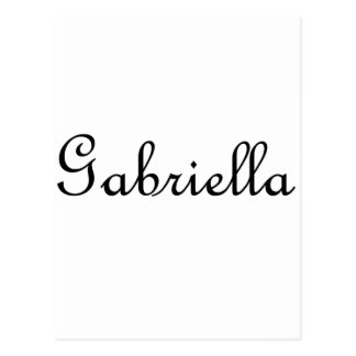 Gabriela Tarjetas Postales
