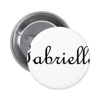 Gabriella Pinback Buttons