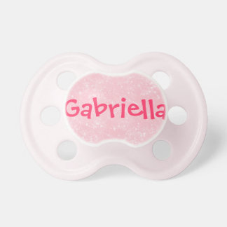 """Gabriella"" Personalized Name Pacifier"