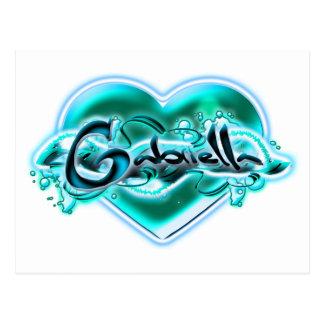 Gabriella Postcard