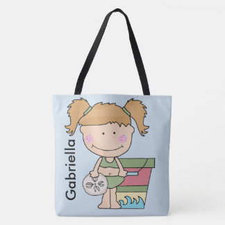 Gabriella's Personalized Beach Tote