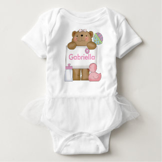 Gabriella's Personalized Bear Baby Bodysuit