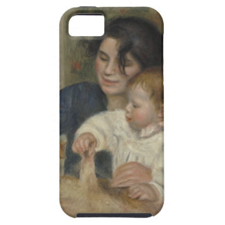 Gabrielle and Jean by Pierre-Auguste Renoir iPhone 5 Cases