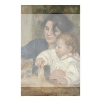 Gabrielle and Jean by Pierre-Auguste Renoir Flyer