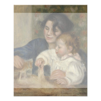 Gabrielle and Jean by Pierre-Auguste Renoir Personalized Flyer