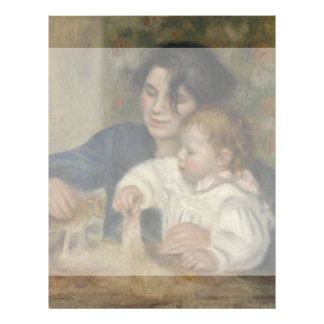 Gabrielle and Jean by Pierre-Auguste Renoir Full Color Flyer
