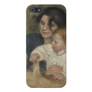 Gabrielle and Jean by Pierre-Auguste Renoir Cover For iPhone 5