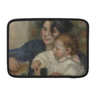 Gabrielle and Jean by Pierre-Auguste Renoir MacBook Sleeve
