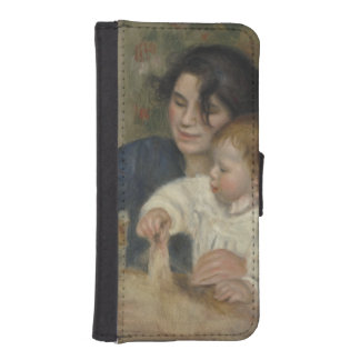 Gabrielle and Jean by Pierre-Auguste Renoir iPhone 5 Wallet Case