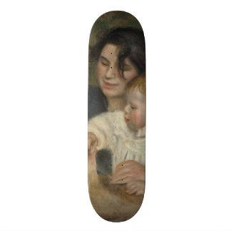 Gabrielle and Jean by Pierre-Auguste Renoir Skateboard