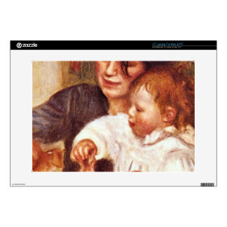 "Gabrielle and Jean by Pierre Renoir 15"" Laptop Skins"