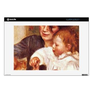 Gabrielle and Jean by Pierre Renoir Laptop Skin