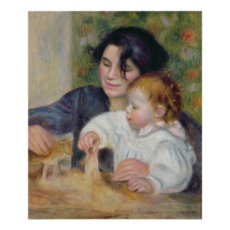 Gabrielle and Jean, c.1895-6 Poster