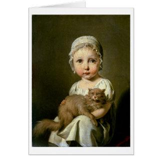 Gabrielle Arnault (1811-72) 1813 (oil on canvas) Card
