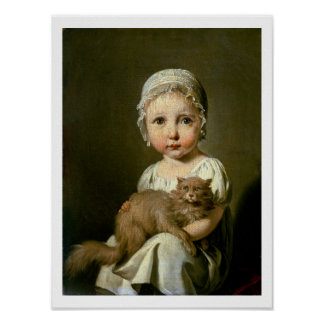 Gabrielle Arnault (1811-72) 1813 (oil on canvas) Poster