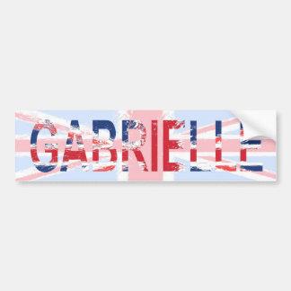 Gabrielle Bumper Sticker