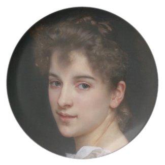 Gabrielle Cot 1890 plate