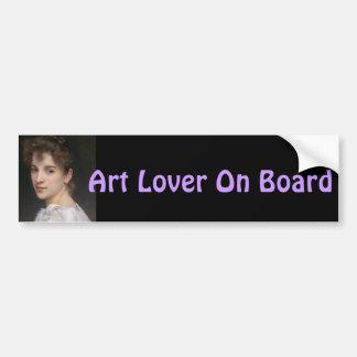 Gabrielle Cot Bumper Sticker