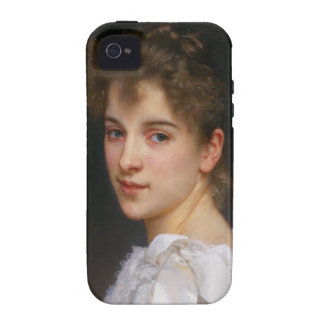 Gabrielle Cot by William Adolphe Bouguereau 1890 iPhone 4 Case