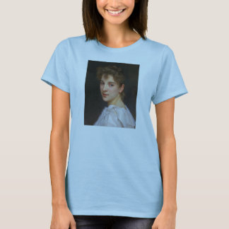 Gabrielle Cot by William Adolphe Bouguereau 1890 T-Shirt