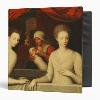 Gabrielle d Estrees and her sister Vinyl Binder