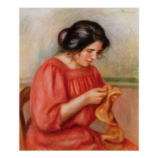 Gabrielle darning, 1908 poster
