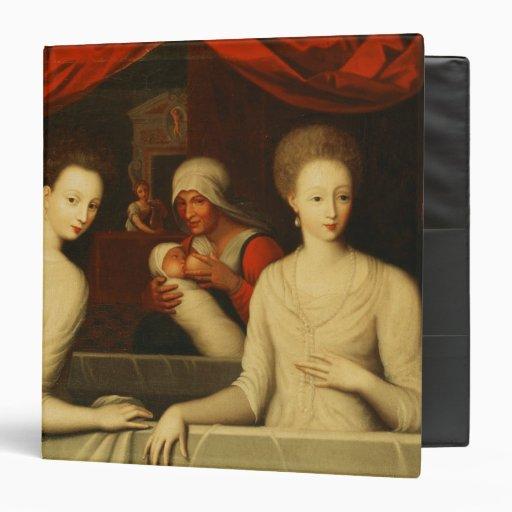 Gabrielle d'Estrees  and her sister Vinyl Binder