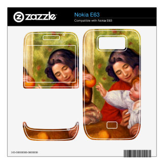 Gabrielle Jean and a girl by Pierre Renoir Decals For The Nokia E63