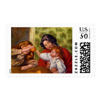 Gabrielle, Jean and a Girl Postage