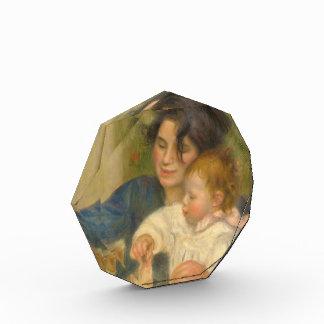 Gabrielle Renard and infant son Jean by Renoir Acrylic Award