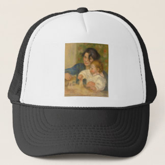 Gabrielle Renard and infant son, Jean by Renoir Trucker Hat