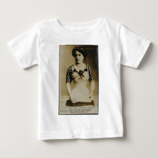 Gabrielle, the amazing half-woman! baby T-Shirt