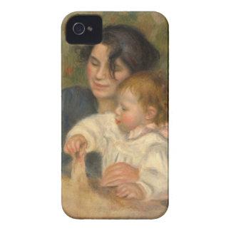 Gabrielle y Jean de Pedro-auguste Renoir Carcasa Para iPhone 4
