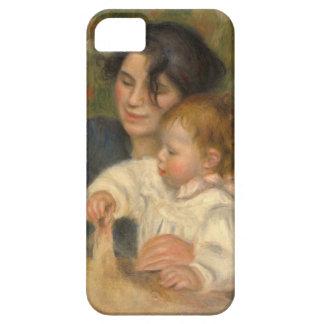 Gabrielle y Jean de Pedro-auguste Renoir Funda Para iPhone SE/5/5s