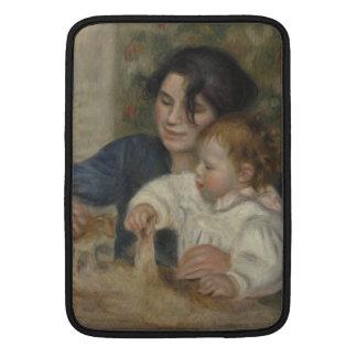 Gabrielle y Jean de Pierre-Auguste Renoir Fundas MacBook