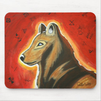 Gabrielle's Dog Mouse Pad