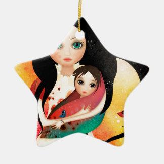 Gabriel's Mother Ceramic Ornament