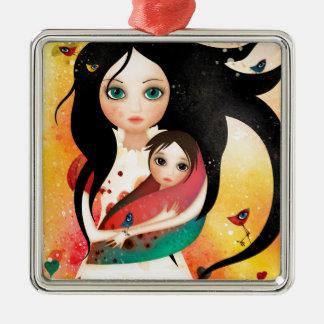 Gabriel's Mother Metal Ornament