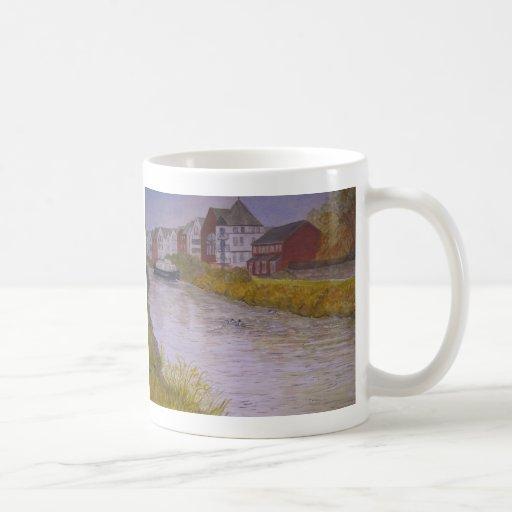 Gabriels Wharf Exeter. Painting Mug