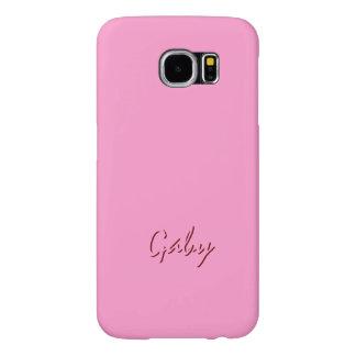 Gaby Pink Style Samsung Galaxy case