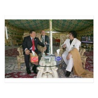 ~ Gaddafi de Libia para siempre Tarjeta Postal