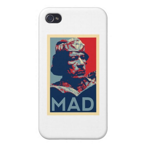 Gaddafi - Mad Case For iPhone 4