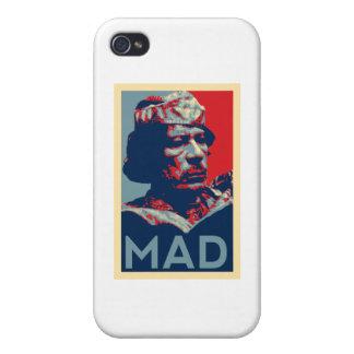 Gaddafi - Mad iPhone 4 Cover