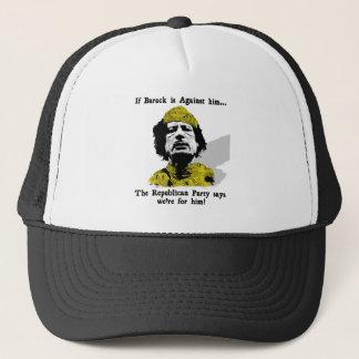 Gaddafi Republicans Love Him Trucker Hat