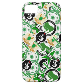 Gaddafi Stickerbomb iPhone SE/5/5s Case