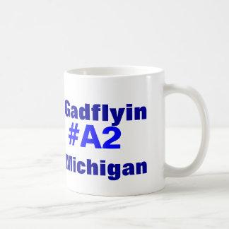 Gadflyin A2 Michigan Taza Clásica