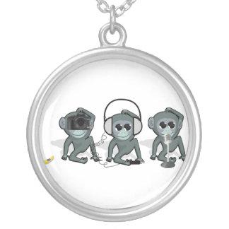 Gadget Monkey Necklace