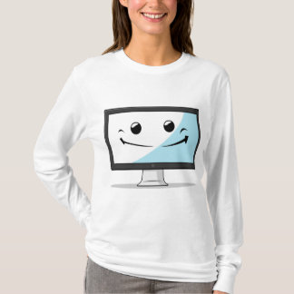 Gadget with Funny Expression - Computer T-Shirt