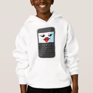 Gadget with Funny Expression - Smartphone 2 Hoodie